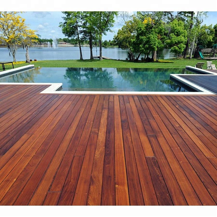 Hardwood Natural Brazil Outdoor Ipe Wood Decking Buy Ipe Decking S4s E4e Hardwood Decking Tech Wood Decking Product On Alibaba Com