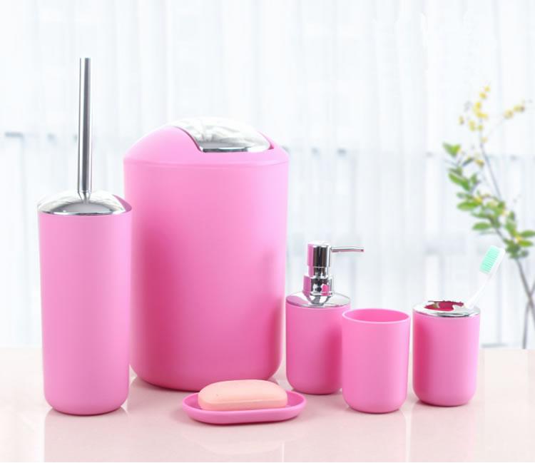 Penjualan Laris Set Aksesori Kamar Mandi Merah Muda Terdegradasi Untuk Penggunaan Rumah Dan Hotel Buy Merah Muda Aksesori Kamar Mandi Set Pink Sabun Dispenser Merah Muda Plastik Sabun Dispenser Product On Alibaba Com
