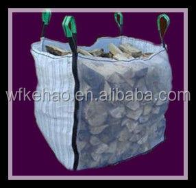 Дышащий функция белый пп огонь дерево , пиломатериалы упаковывая мешок