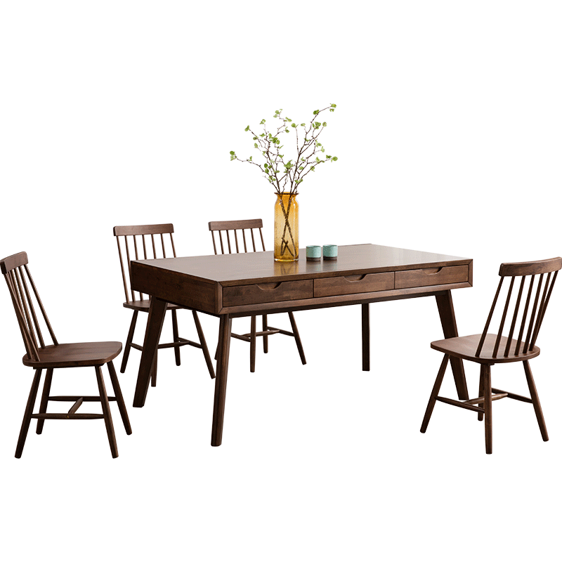 Big Size Wooden Dining Room Table With Drawers Buy Wood Rustic Dining Table Wood Carved Dining Room Tables Unique Dining Room Tables Product On Alibaba Com