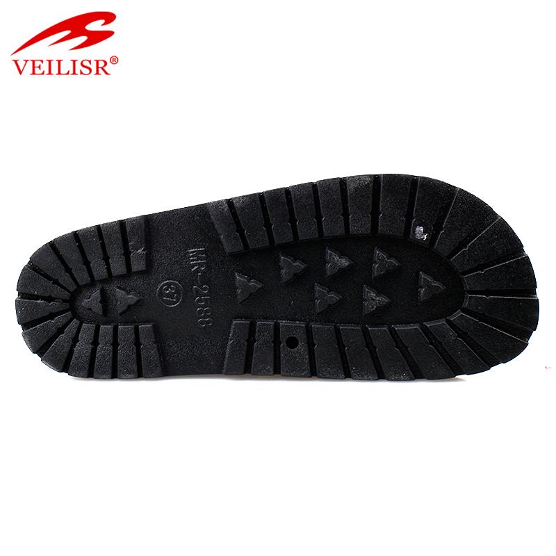 Женские сандалии на плоской подошве, с тканевой лентой