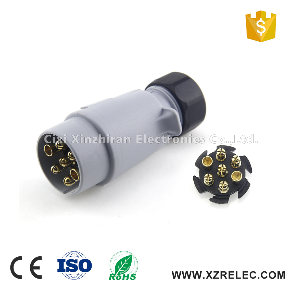 40 Pin Small Round Plastic Wiring Diagram Trailer Plug   Buy Trailer  Plug,Wiring Diagram Trailer Plug,Plastic Wiring Diagram Trailer Plug  Product on ...