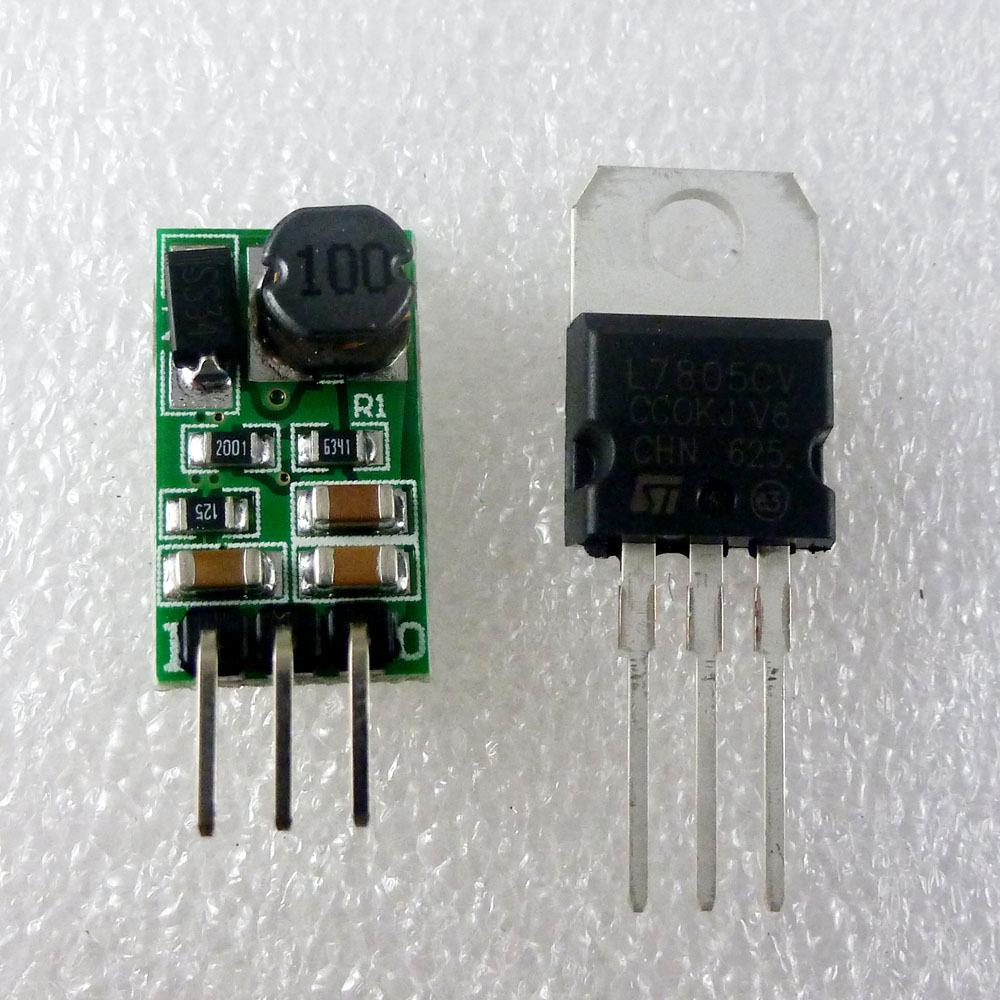 1A 6 5-40V to 5V DC DC Converter Buck Module replace TO-220 L7805
