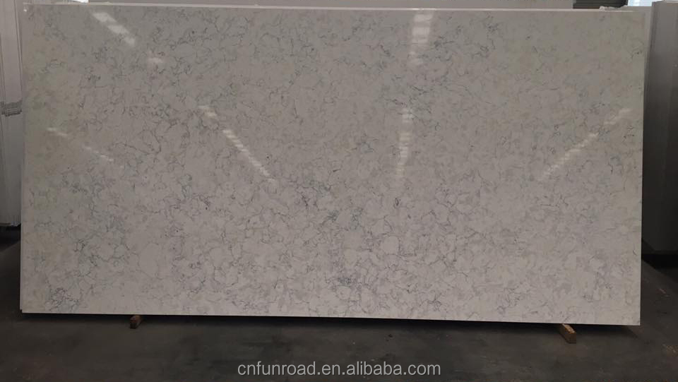 Квартовый камень серого цвета/кварцевая каменная плита