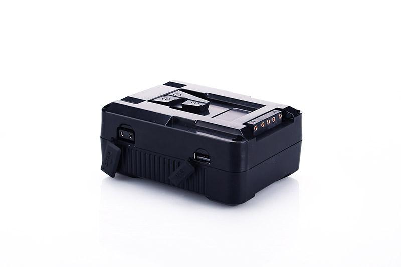98wh камеры с v-образным креплением для батарея V-Lock для видеокамеры камкордера батарея для видеосъемки с USB и D-TAP порт