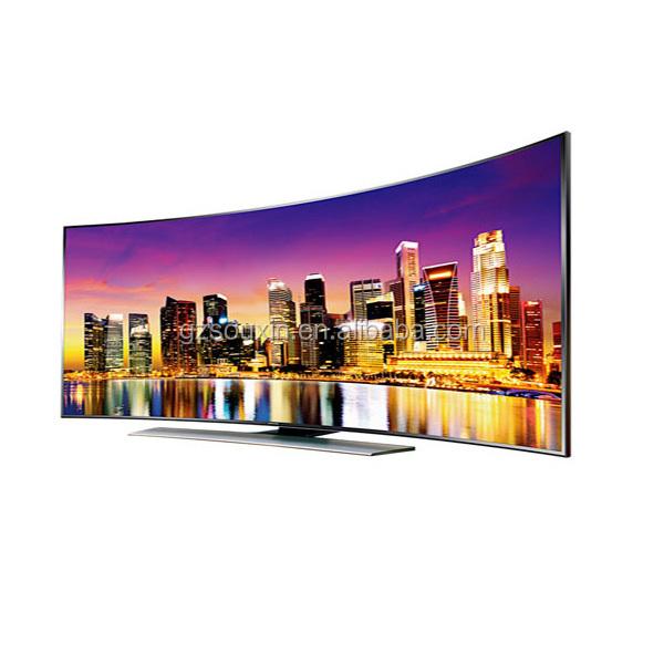 Изогнутые 80 дюймов Смарт 4k led-телевизор в новом дизайне