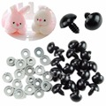 1pack Black Plastic Safety Eyes For Teddy Bear Dolls Toy Animal Felting 6 20mm