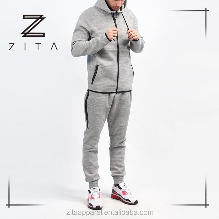 Latest Design Tech Fleece Fitted Plain Mens Tracksuit Set With Hood - Buy  Tracksuit,Mens Tracksuit,Tech Fleece Tracksuit Product on Alibaba.com
