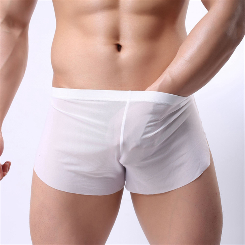 Mens sexy Side Split Shorts