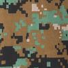 Dark green digital camouflage