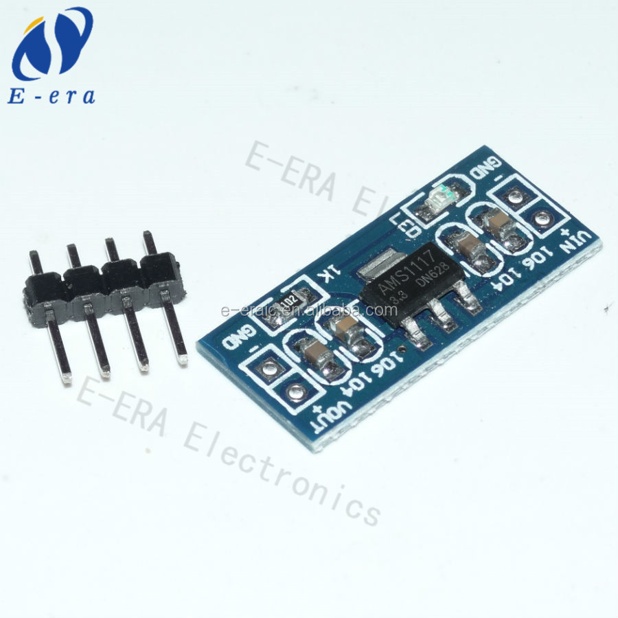 buy online electronic components Ams1117 3.3v step-down power module MCU regulator boards