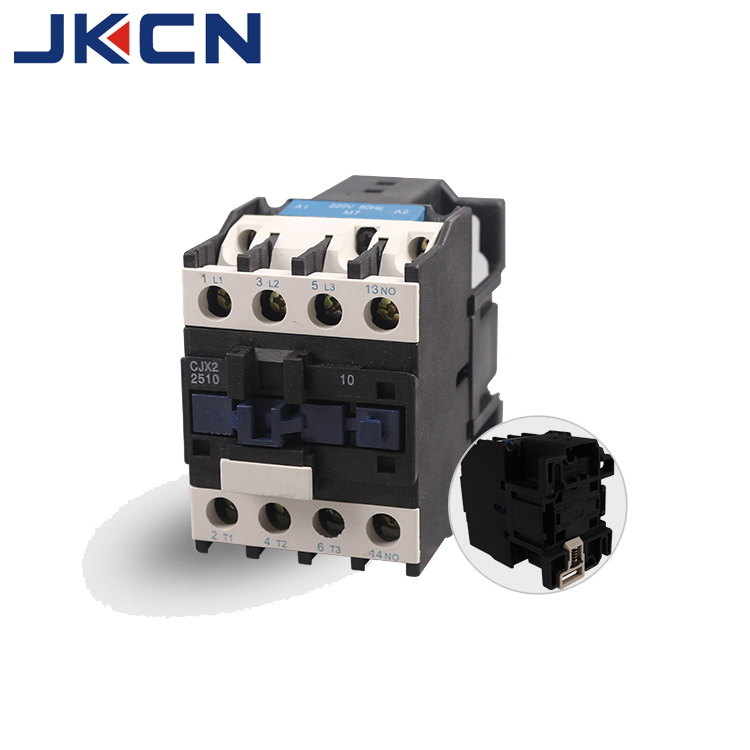 CJX2 LC1-D 20A 25A 40A 125A 660V AC NC NO auxiliary contactor