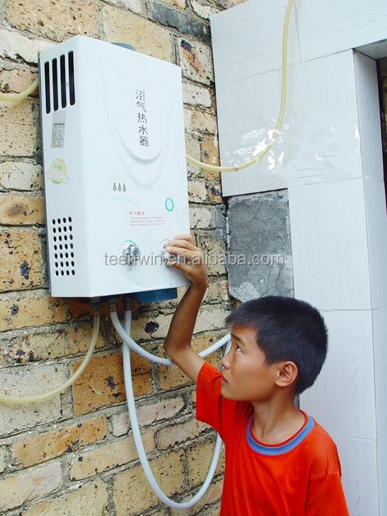 Проточный газовый водонагреватель Teenwin