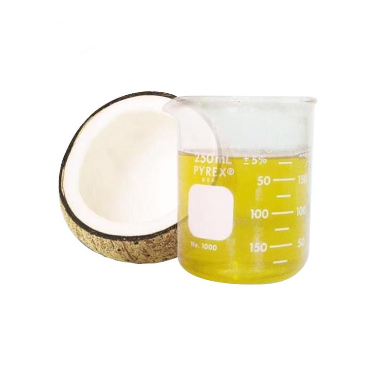 Лучшее качество, органическое Фракционное кокосовое масло холодного прессования, натуральное кокосовое масло оптом