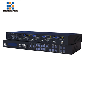 Wholesale good price 1080p HD 4x4 matrix switcher hdmi video wall processor with seamless switching output and mixed input