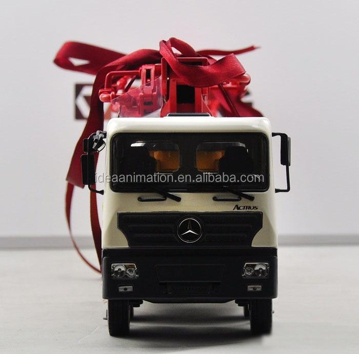 Изготовленный На Заказ 1/35 металлический бетононасос модель грузовика игрушки для подарка