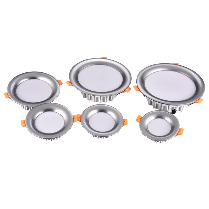 Trade Assurance Linear Gipsy 265V Down Light SMD LED Aluminum Downlight