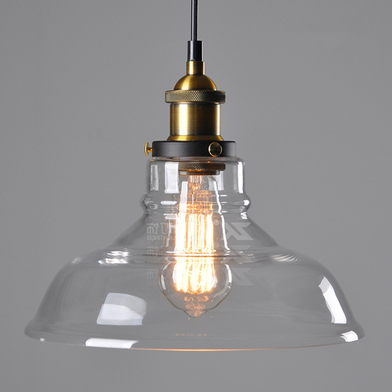 aliexpress : buy vintage rustic crystal glass pendant