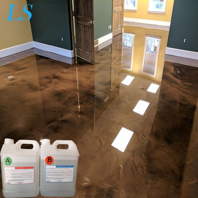 Parts Epoxy Resin Crystal Clear Liquid