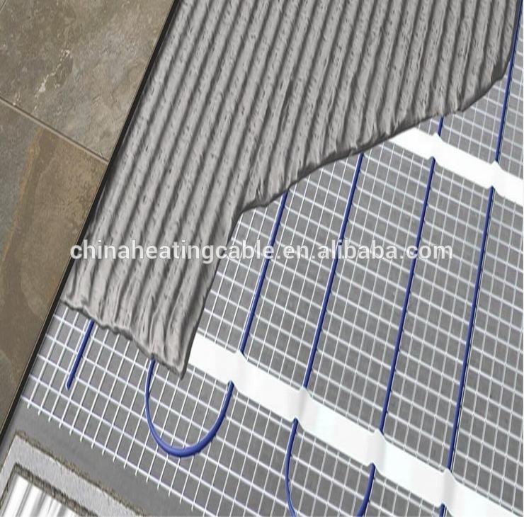 Marble sub floor electric underfloor heat mat