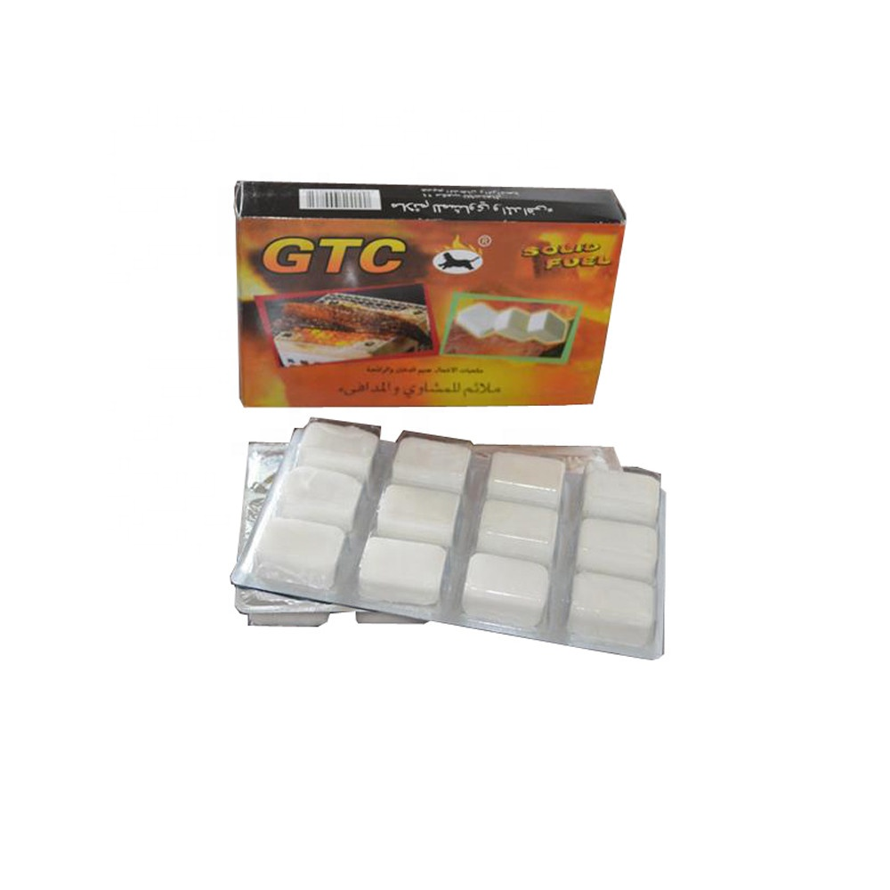 HQS-025 The Amry and outdoor travelers use Hexamine solid fuel Lighting cube