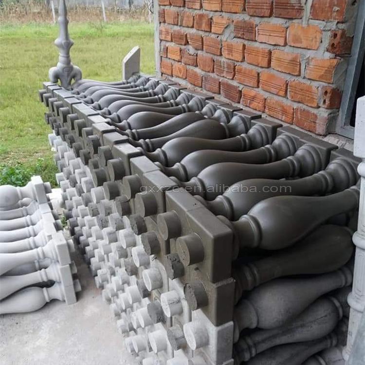 plastic concrete mold for baluster