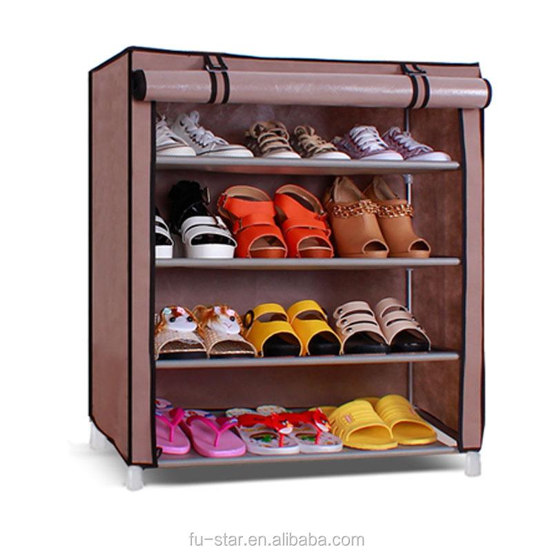 meuble chaussure en toile