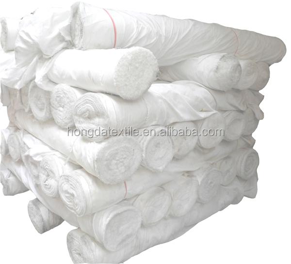 Оптовая продажа, простая белая хлопковая ткань 233C