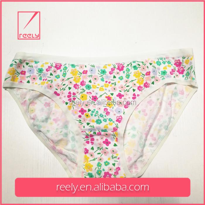 Flower Print Panties Pictures