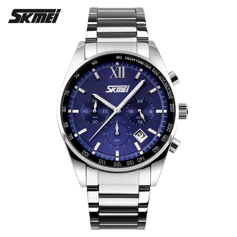 Customized SS Stainless Steel Business Watch for men SKMEI Customized SS Stainless Steel Business Watch for men