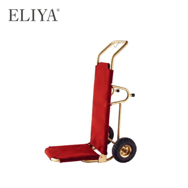 Aluminium Hotel Room Service Cart Lobby Luggage Trolley