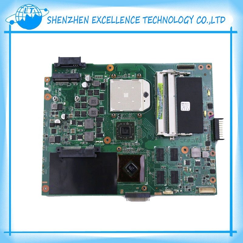 New For Asus K52DR Motherboard A52D X52D notebook mainboard HD5470 with 1GB RAM 8 pcs of