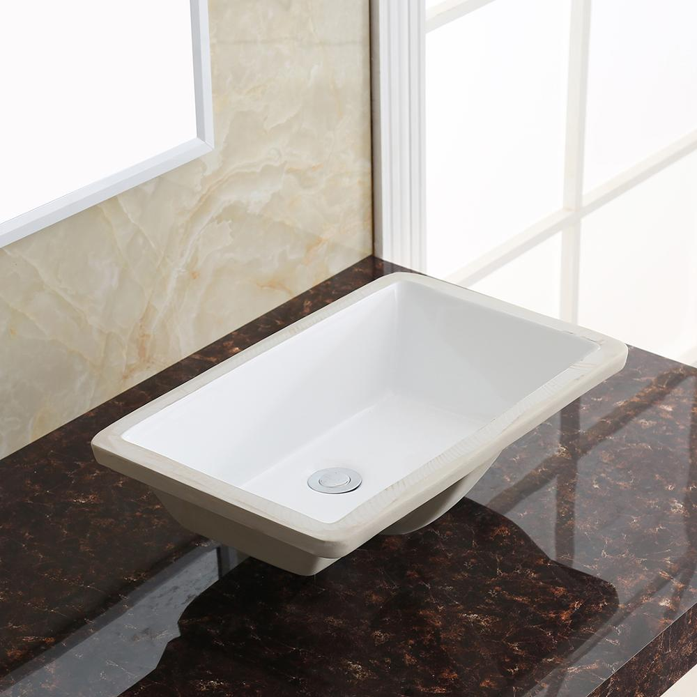 1629 European Style White Glazed Large Size Rectangular Hotel Bathroom Sink Buy Bathroom Sink European Bathroom Sinks Hotel Bathroom Sink Product On Alibaba Com