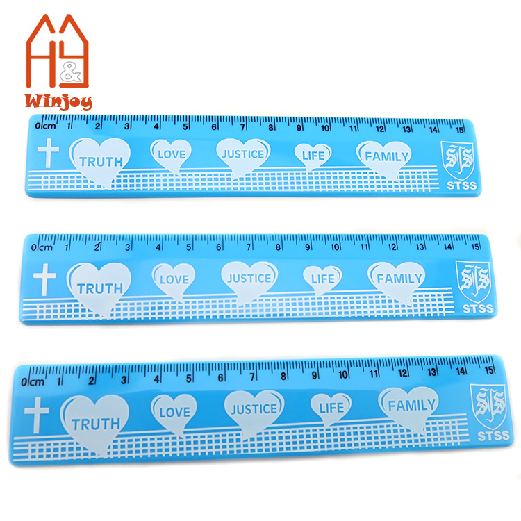 Design Service Available School College University Charity Club Christmas Gift Any Design Photo Text Custom Printed Acrylic 6 Inch Ruler