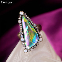 Hot selling vintage stone ethnic fashion rings for women bohemian trendy anillos statement accessories anel feminino