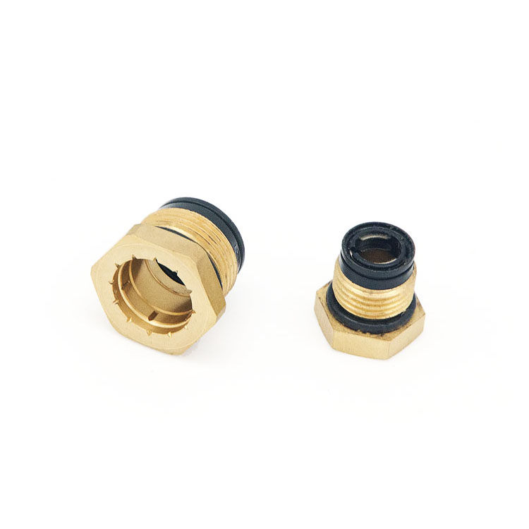 DOT Quick push in to connect fitting connector hose for pneumatic systems