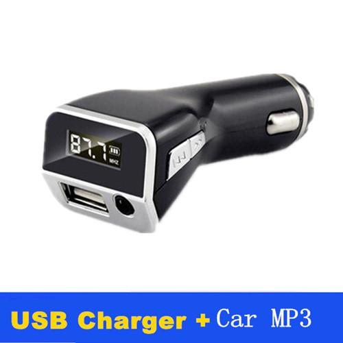 Xianke M81 автомобиль mp3-плеер руки fm-передатчик AUX порт сигарета зажигалка USB автоматический зарядное устройство 5 V 2.1A