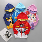 New autumn kids boy girl popular hoody washed jacket/coat