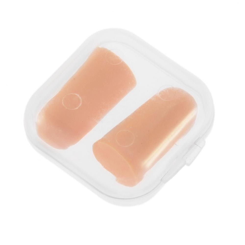 1 пара анти-шум храп затычки для ушей удобные мягкий пена ушной ухо вилка протектор путешествие сна редуктор