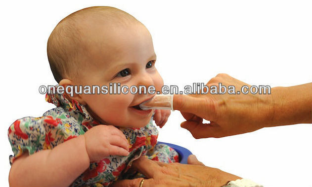 творческий продукт младенца fda силиконовые ребенку зубную щетку зубную щетку пальцем
