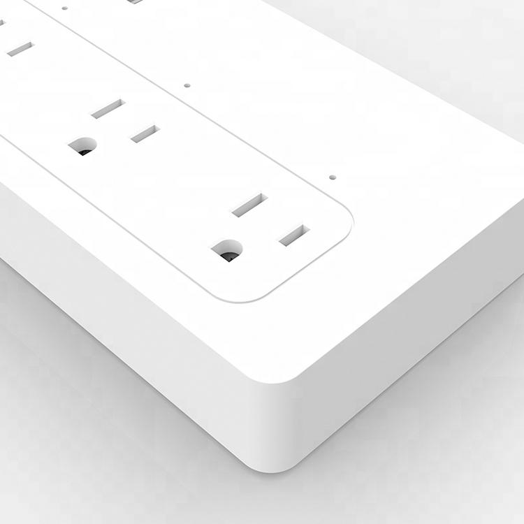 High Quality US Standard Wireless Wifi Remote Smart Power Strip with USB Jack