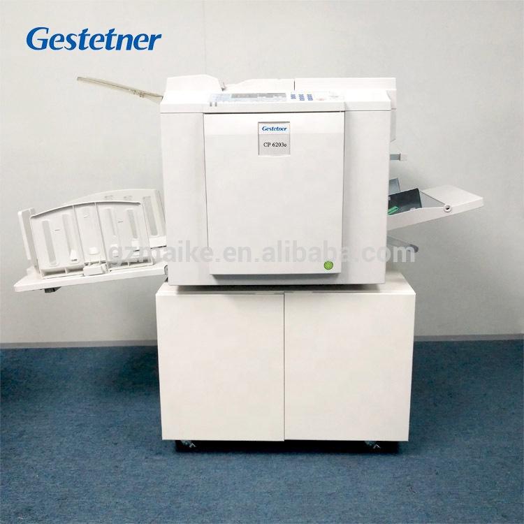 Gestetner and ricoh 6203 digital duplicator printer scanner copier machine