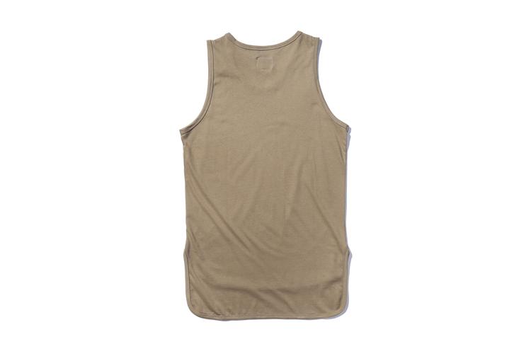 09a2a14efd4b6e 2019 Wholesale Solid Color Front Short Back Long Hip Hop Tank Top ...