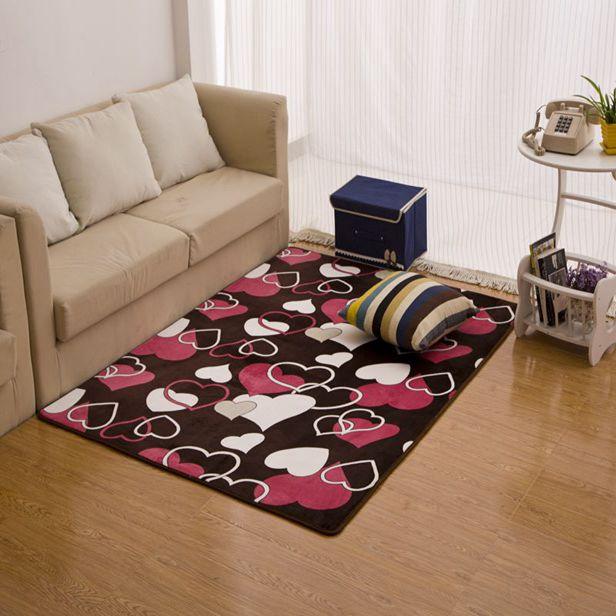 Living Room Coffee Table Carpet Bathroom Slip Resistant