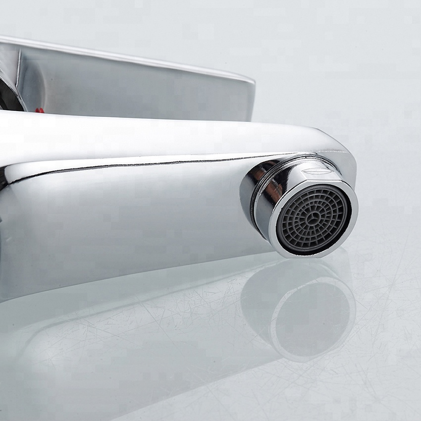 Modern sanitary set single lever tap single hole bathroom basin sink mixer faucet