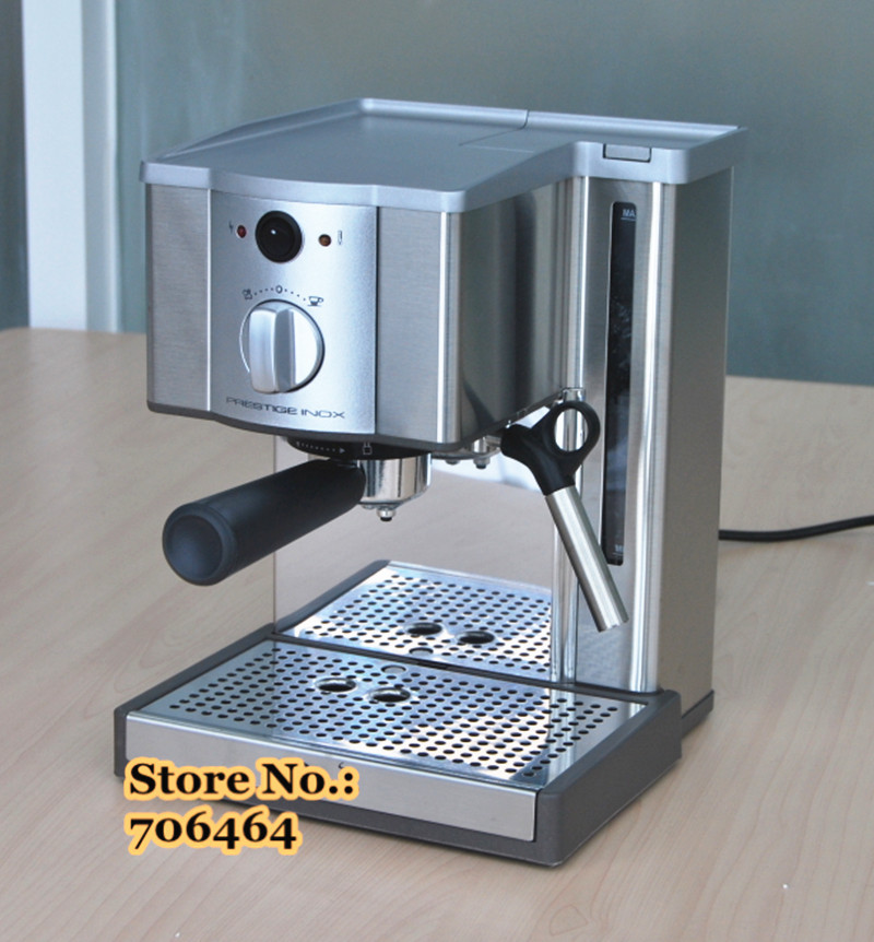 15 bar high quality espresso coffee maker stainless steel. Black Bedroom Furniture Sets. Home Design Ideas