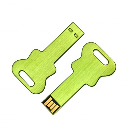 High Quality Customized Laser Engraved Logo Metal Memory Stick Key USB Flash Drive - USBSKY   USBSKY.NET