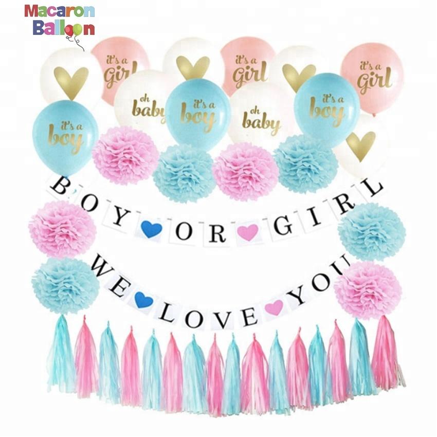 anniversaire Personnalisé Ballon Transfert Autocollant pour ballons fête baby shower