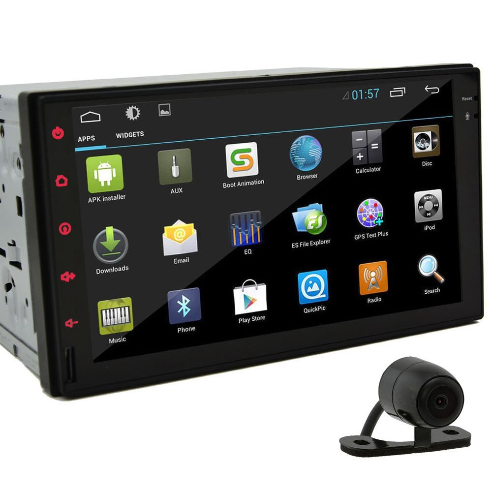 Android  Din Car Stereo Hd Radio