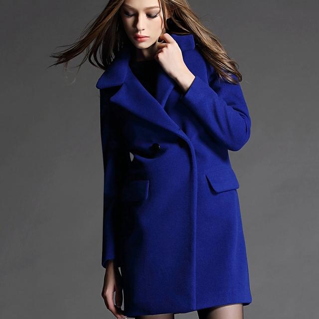 Blue coat womens